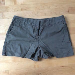 Olive loft shorts